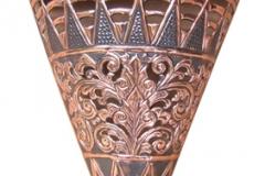 kerajinan lampu dinding tembaga kuningan 3