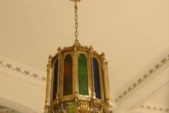 kerajinan lampu gantung tembaga kuningan 6