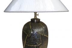 kerajinan lampu meja tembaga kuningan 9