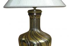 kerajinan lampu meja tembaga kuningan 10