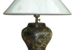 kerajinan lampu meja tembaga kuningan 11