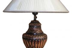 kerajinan lampu meja tembaga kuningan 7