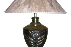 kerajinan lampu meja tembaga kuningan 8