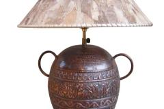 kerajinan lampu meja tembaga kuningan 13