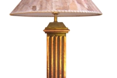 kerajinan lampu meja tembaga kuningan 12