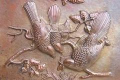 kerajinan relief tembaga kuningan 15